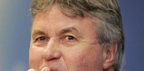Schlaflose Nächte für Chelseas Tüftler Hiddink