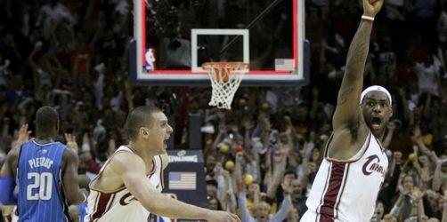 In letzter Sekunde: Cleveland gleicht in NBA aus