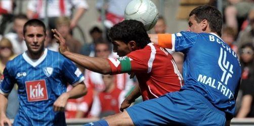 Fußball ohne Abstiegsangst: Köln gegen Bochum 1:1