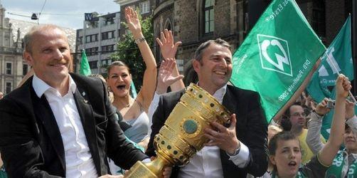 DFB-Pokalsieger in Bremen enthusiastisch gefeiert