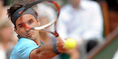 Federer im Halbfinale - Aus für Serena Williams