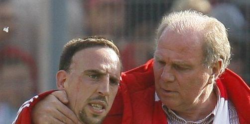 Bayern erwarten Reals Angriff auf Ribéry