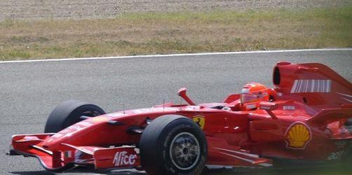 «Schumacher on Tour» mit Muskelkater