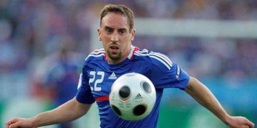 Frankreich-Coach Domenech hofft auf Ribéry