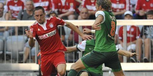 Bayern ohne Ribéry nach Mainz - Warten auf Toni