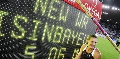 Issinbajewa schwebt zum 27. Weltrekord
