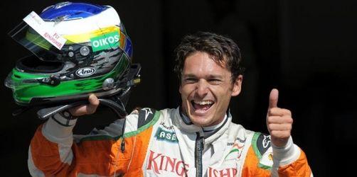 Sensations-Pole für Fisichella - Vettel nur Achter
