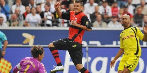 Amanatidis rettet Frankfurt einen Punkt gegen BVB