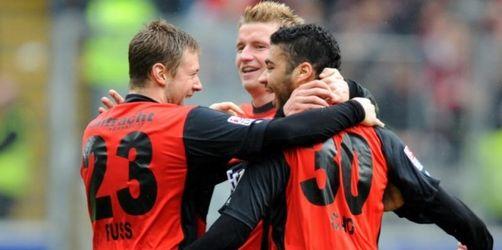 Leverkusen hakt Titel nach 2:3 in Frankfurt ab