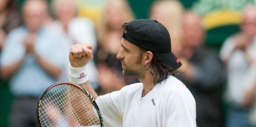Halle: Sechs deutsche Tennisprofis im Achtelfinale