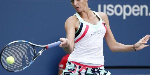 Kampf um Platz eins:Pliskova im Viertelfinale