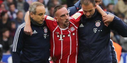 Nach Knieverletzung:Ungewisse Zukunft von Ribéry