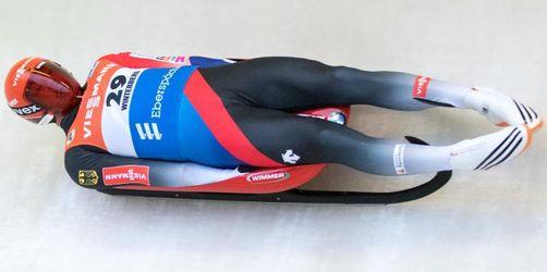 Rodler Loch verpasst Weltcup-Sieg knapp