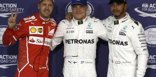 Pole Position: Bottas düpiert Hamilton und Vettel