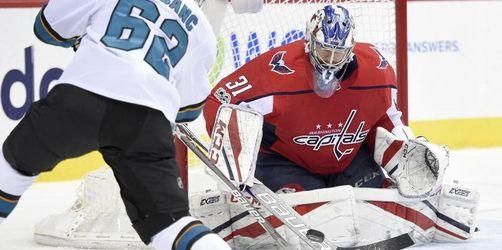 NHL: Grubauer gewinnt mit Washington gegen San Jose
