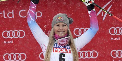 US-Star Vonn rückt Ski-Legende Stenmark immer näher