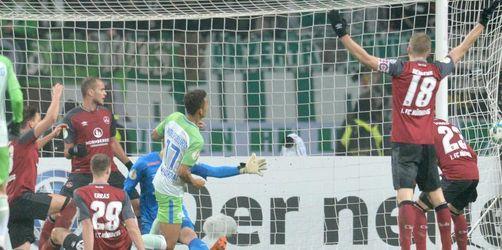 Nürnberg verliert im Pokal gegen Wolfsburg