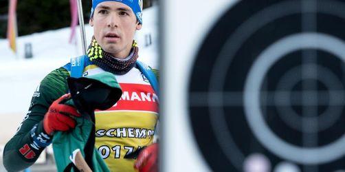 Biathlon-Weltcup in Ruhpolding:Härtetest für Schempp