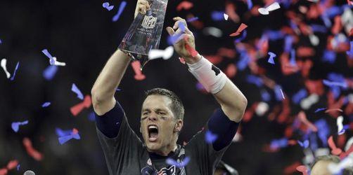 Star-Quarterback Brady will sechste Krönung im Super Bowl