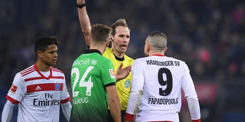 HSV fällt nach 1:1 gegen Hannover 96 weiter zurück