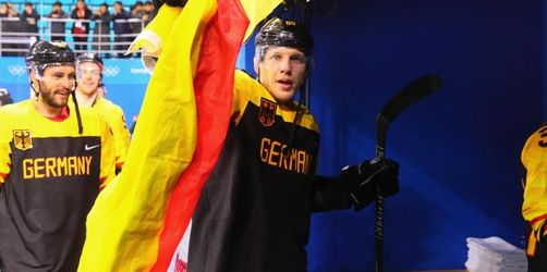 Vor Olympia-Finale:Deutsches Eishockey-Team bangt um Wolf