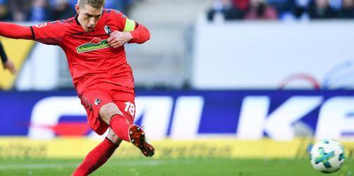Petersen beschert Freiburg wichtigen Punkt in Hoffenheim