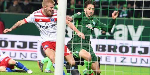 Glücklicher Sieg:Werder bezwingt den HSV mit 1:0