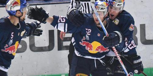 Heimsieg:München geht in Eishockey-Finalserie in Führung