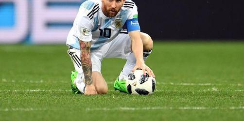 Keine Worte, keine Taten: «Messi ist verloren»