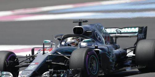 Frankreich-Training: Hamilton hängt Vettel ab