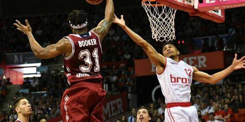 Bayern-Basketballer verlängern mit Booker: Zirbes geht