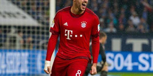 Javi Martínez beim FC Bayern zurück auf dem Platz