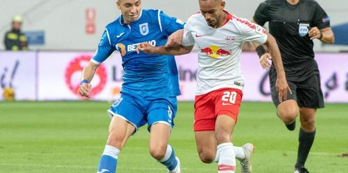 RBLeipzig erreicht in Craiova Europa-League-Playoffs
