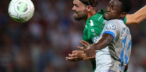 Schalke müht sich in zweite Pokal-Runde: 2:0 in Schweinfurt