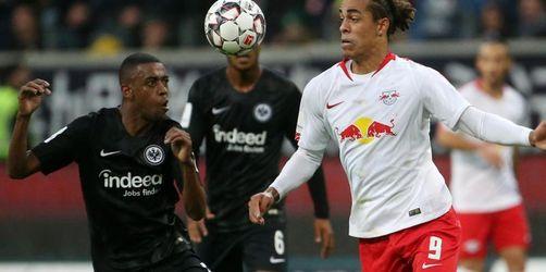 Leipzig verpasst Befreiungsschlag - 1:1 bei Frankfurt