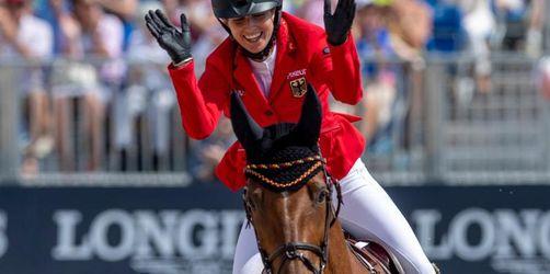 Mangos fürs Pferd und Liebeserklärung: Blum feiert Gold