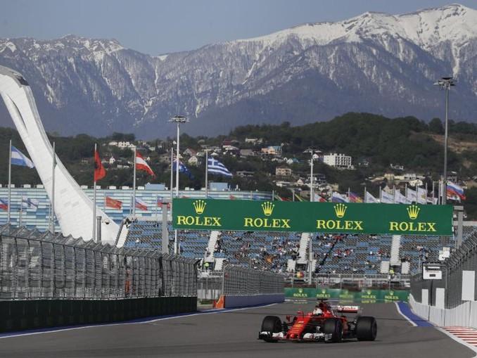 Sebastian Vettel rechnet sich auf der Strecke in Sotschi gute Chancen aus. /AP