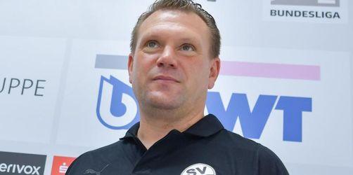 Trainer Koschinat beim SV Sandhausen vorgestellt