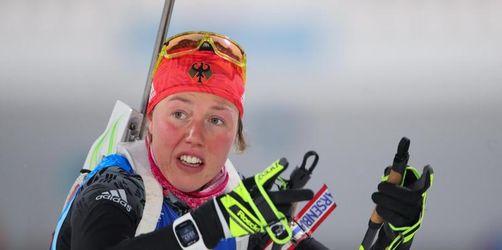 Biathlon-Star Dahlmeier muss längere Zwangspause einlegen