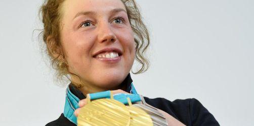 Doppel-Olympiasiegerin Dahlmeier mit langer Biathlon-Pause