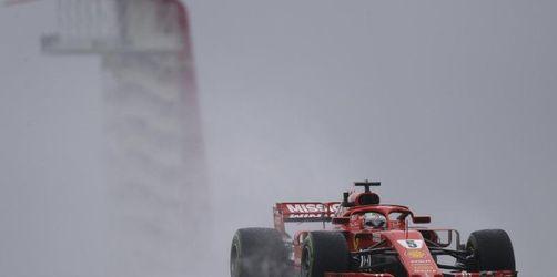 Vettels verheerender US-Auftakt:Riesenrückstand und Strafe