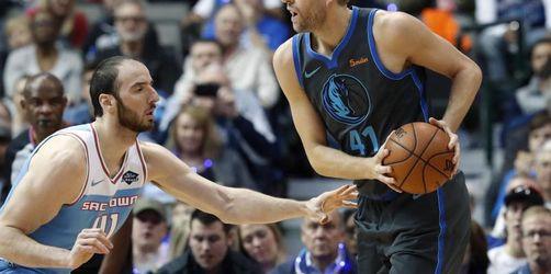 NBA: Nowitzki verliert zweites Spiel nach Verletzungspause