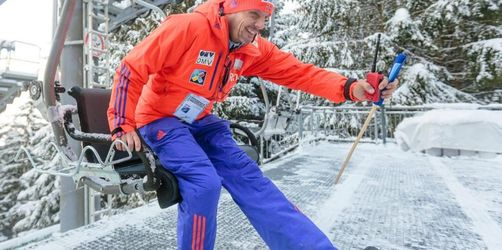 «Revolution» durch rote Döschen: Der gläserne Skispringer