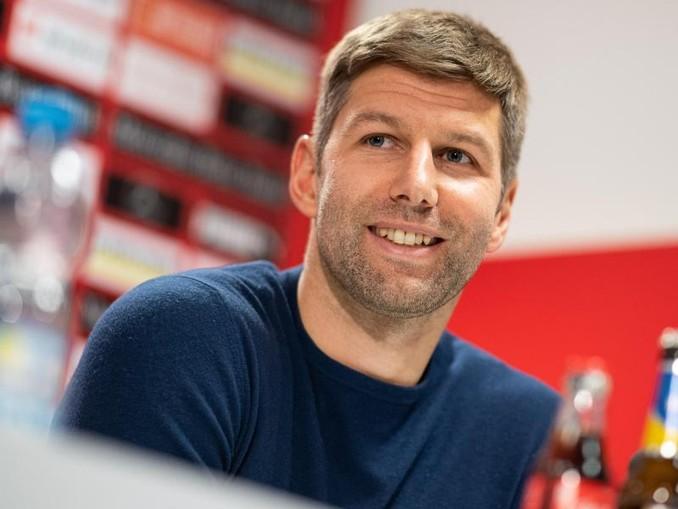 Optimistisch: Ex-Nationalspieler Thomas Hitzlsperger bei seiner Vorstellung als neuer VfB-Sportvorstand.