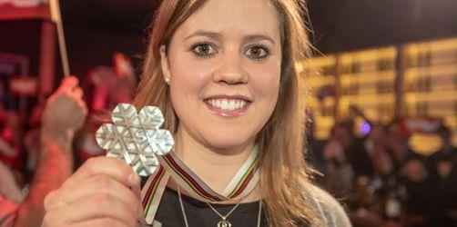 Viktoria Rebensburg genießt WM-Silber - «glücklicher Mensch»
