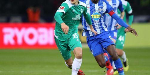 Werder-Serien halten: Pizarro sichert spätes 1:1 in Berlin