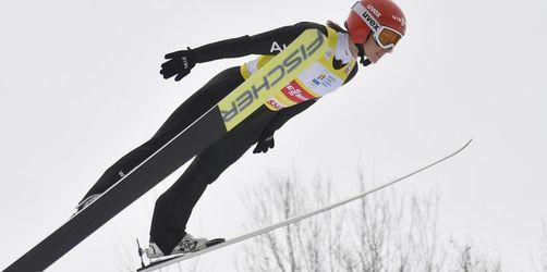 Skispringerin Althaus kann Lundby nicht stoppen