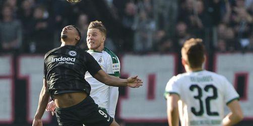 Frankfurt vergibt große Chance: 1:1 gegen Mönchengladbach