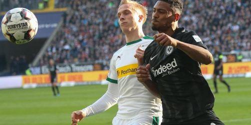 Gladbachs gewinnt einen Punkt - Frankfurts Remis-Serie