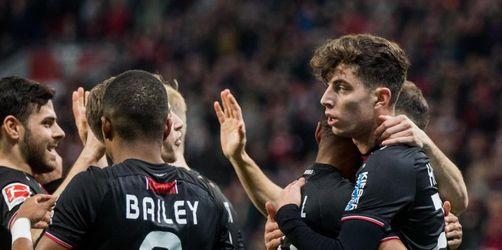 Leverkusen weiter im Aufwind: 2:0 gegen Düsseldorf